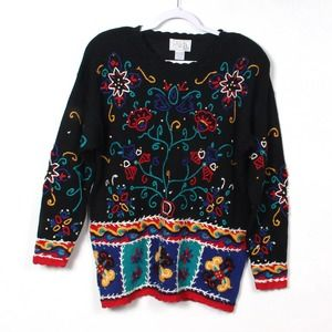 Vintage Casual Corner Pullover Sweater M NWT